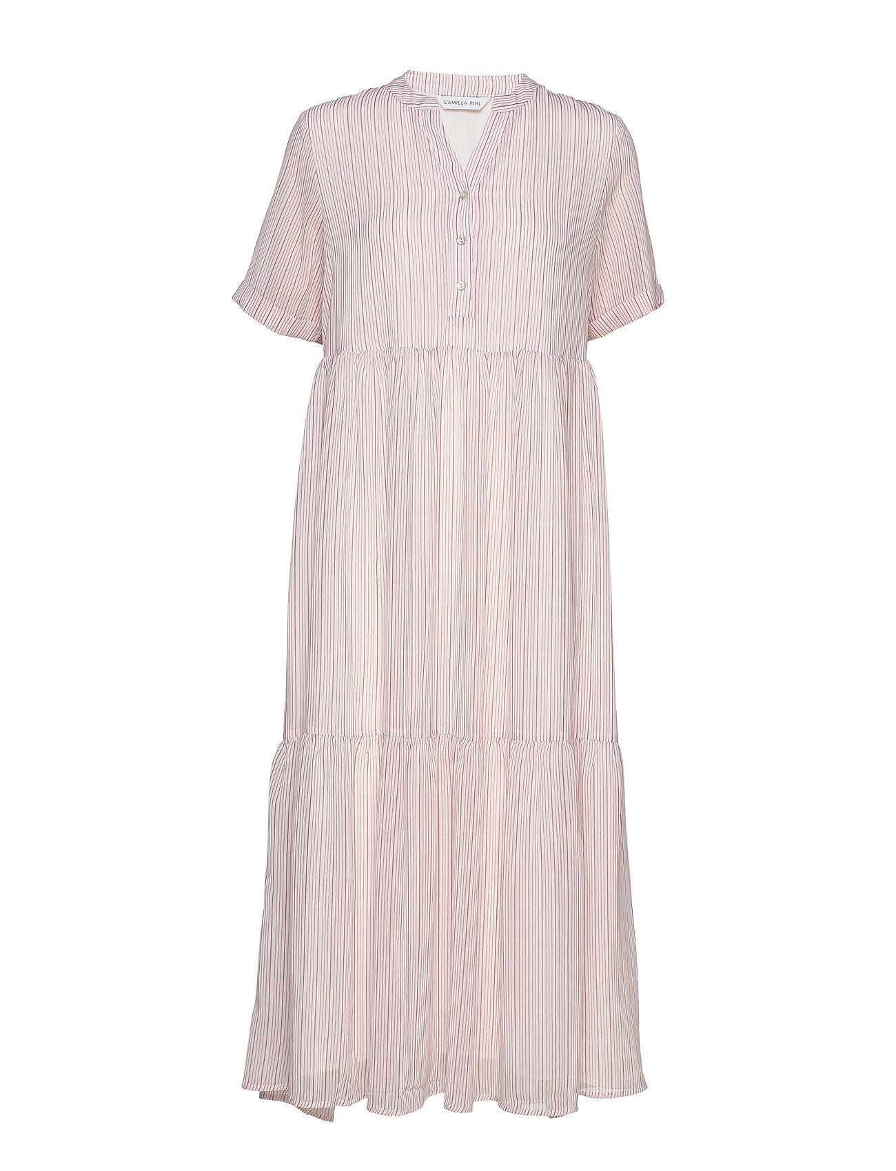 Camilla Pihl Flow Dress Maksimekko Juhlamekko Vaaleanpunainen Camilla Pihl