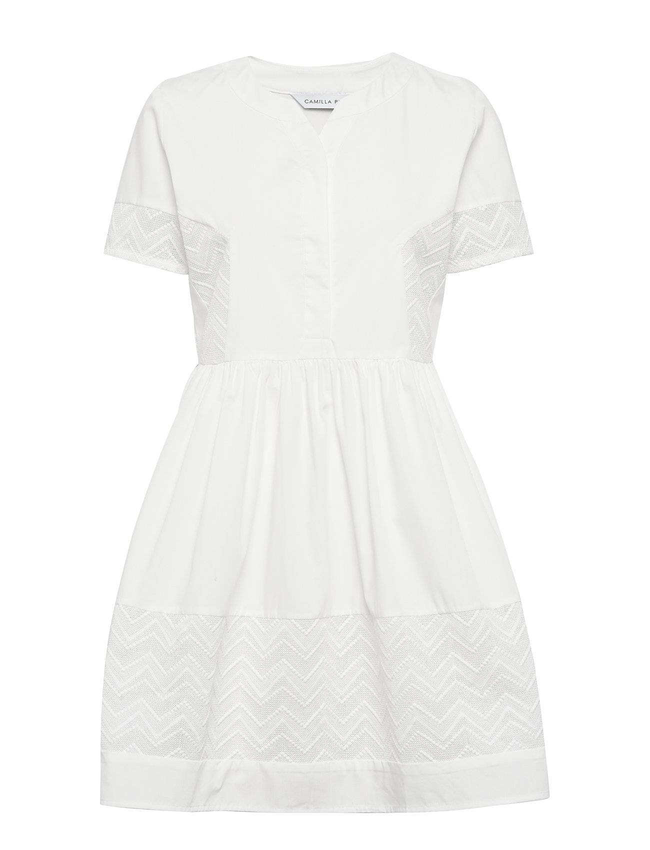 Camilla Pihl Cam Dress Polvipituinen Mekko Valkoinen Camilla Pihl