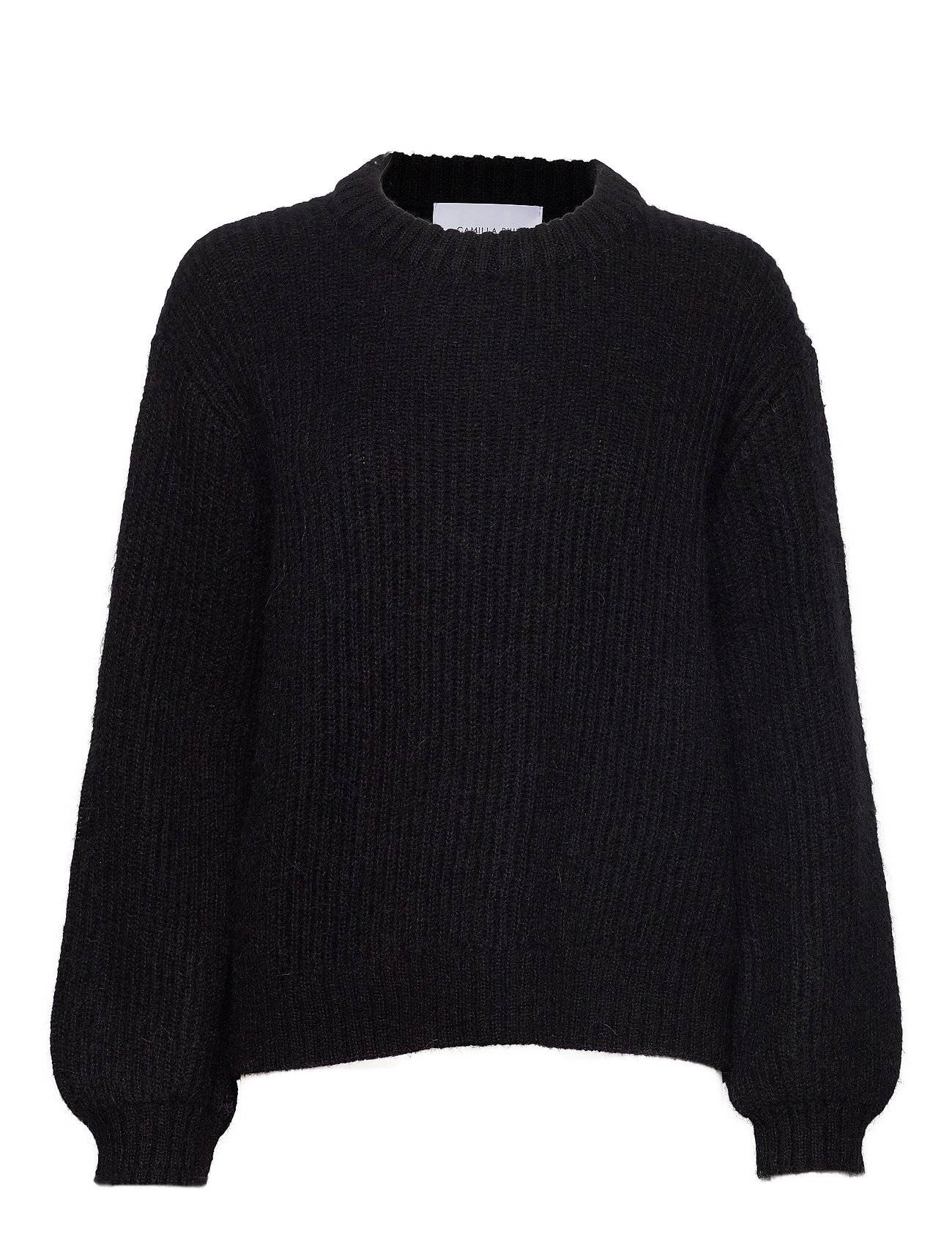 Camilla Pihl Madrid Sweater Neulepaita Musta Camilla Pihl