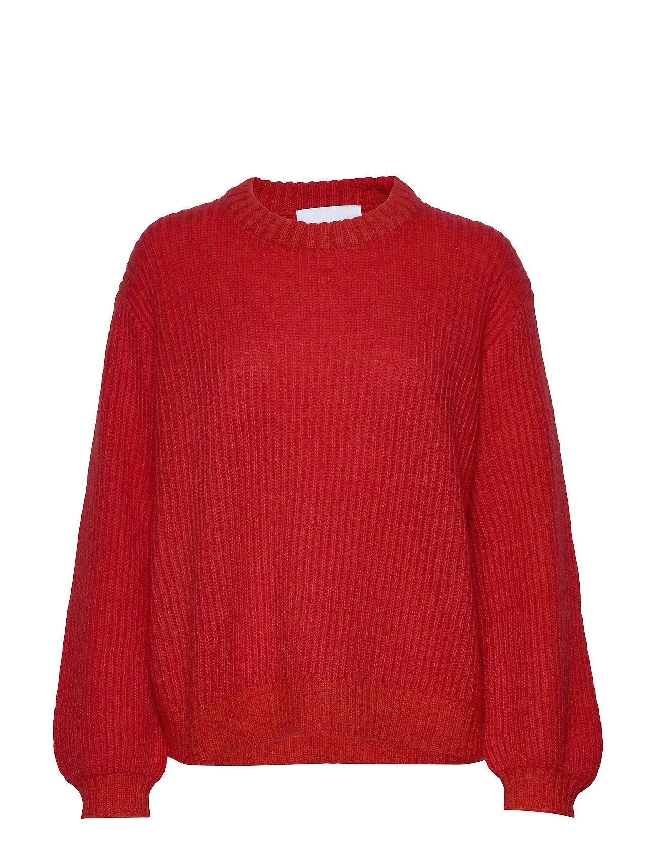 Camilla Pihl Madrid Sweater Neulepaita Punainen Camilla Pihl