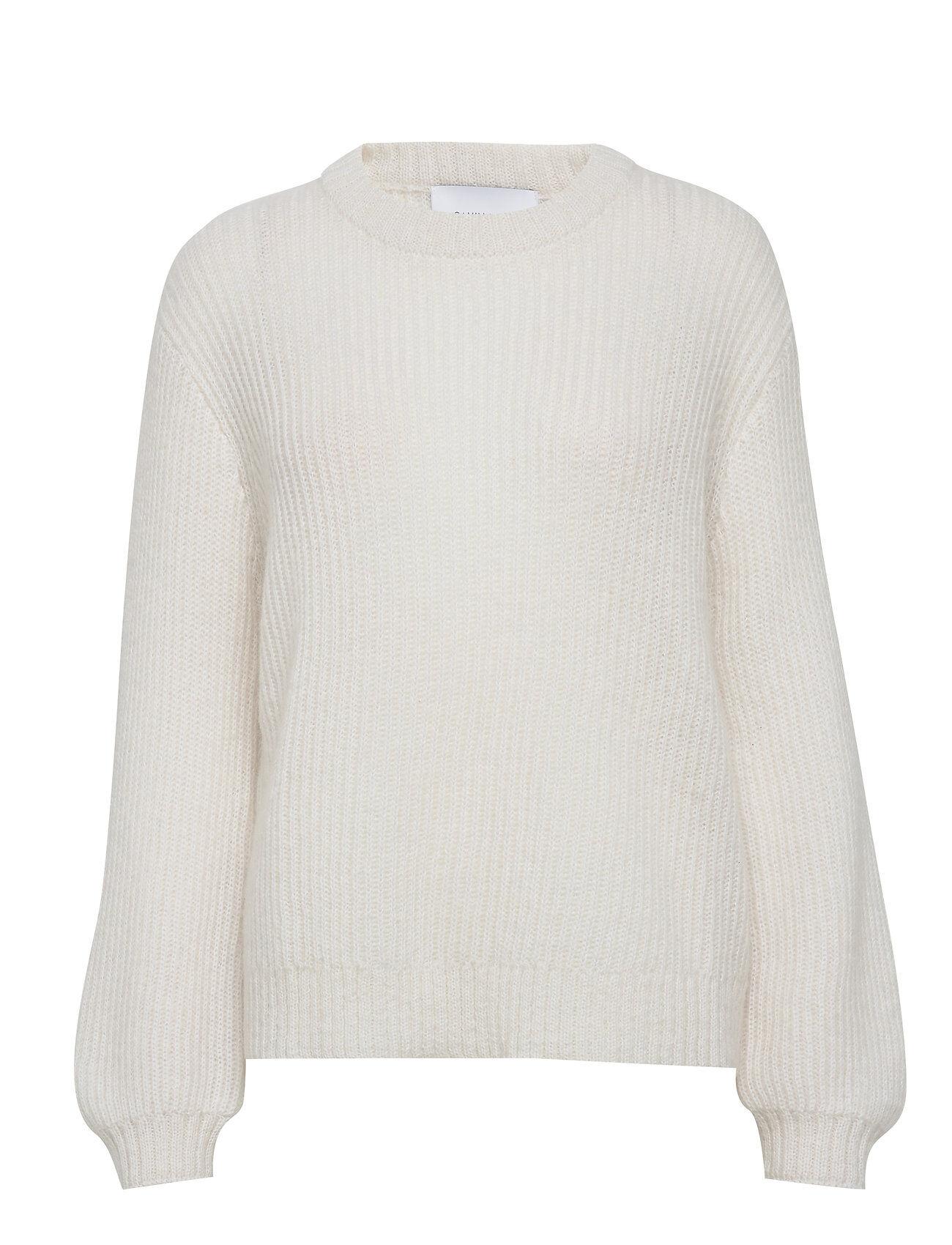 Camilla Pihl Madrid Sweater Neulepaita Valkoinen Camilla Pihl