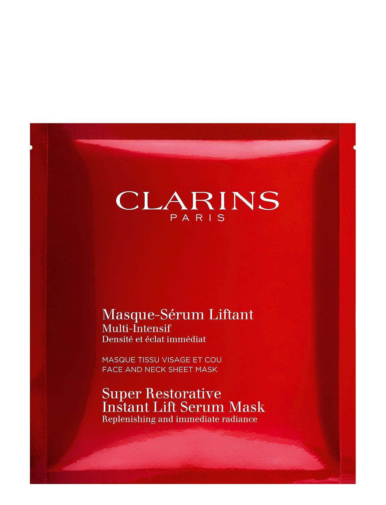 Clarins Super Restorative Instant Lift Mask 1 Pcs Kasvojen Ihonhoito Clarins