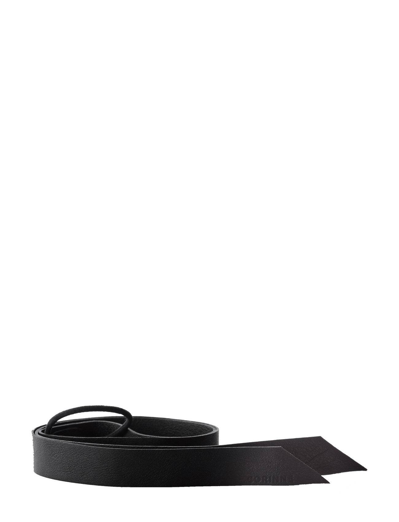 Corinne Leather Band Long