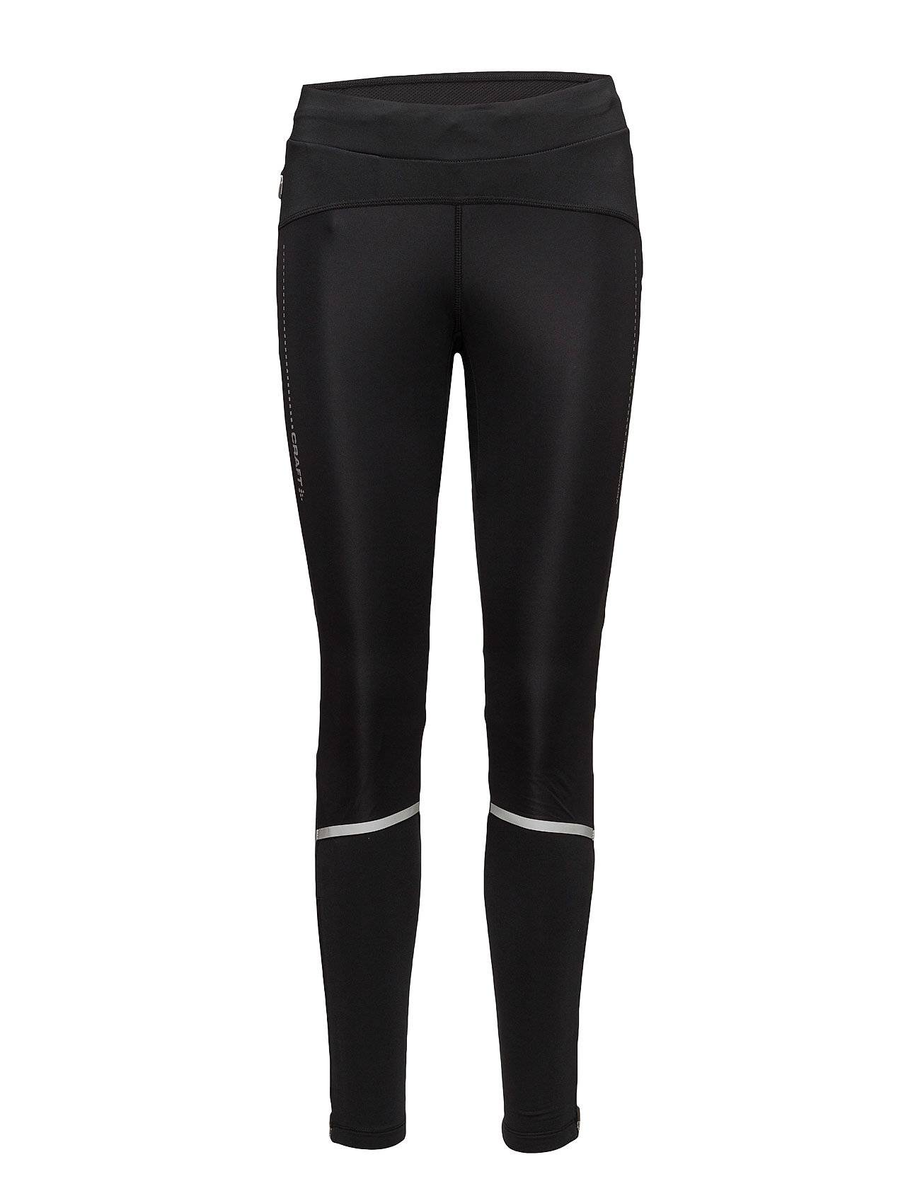 Image of Craft Essential Winter Tights W Running/training Tights Musta Craft