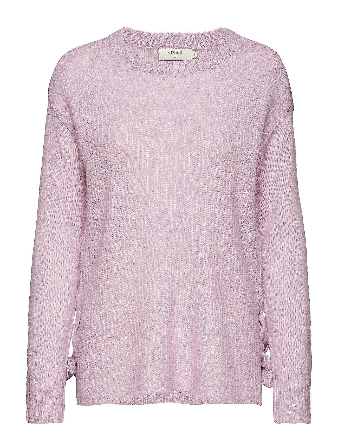 Cream Zoey Knit Pullover