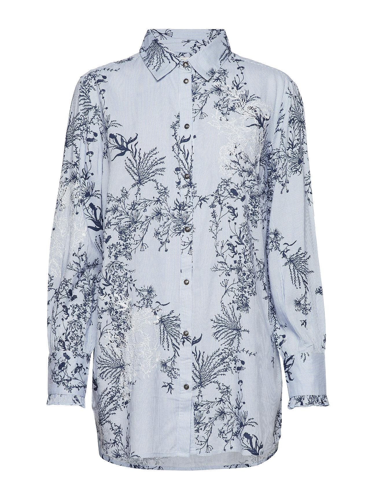 Cream Juliana Long Shirt