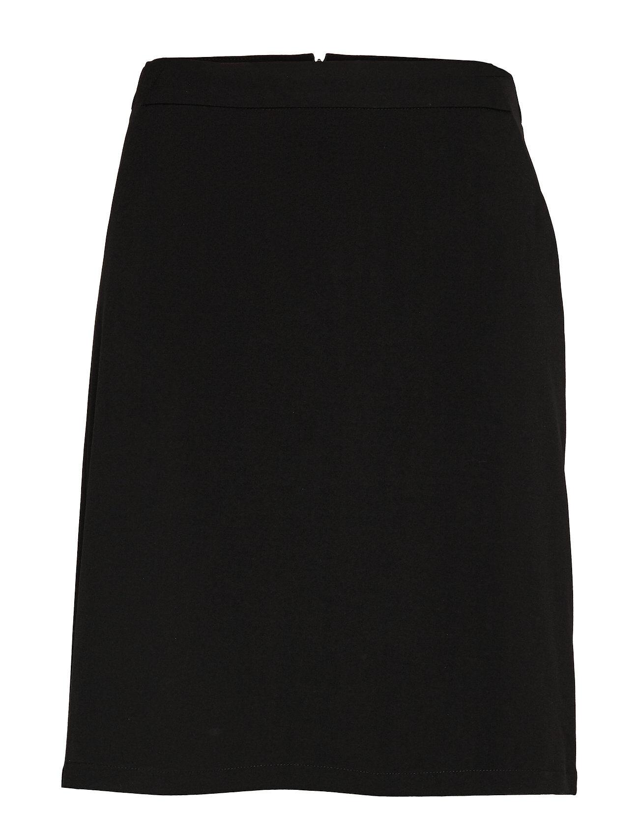 Culture Cuariane Skirt Polvipituinen Hame Musta Culture