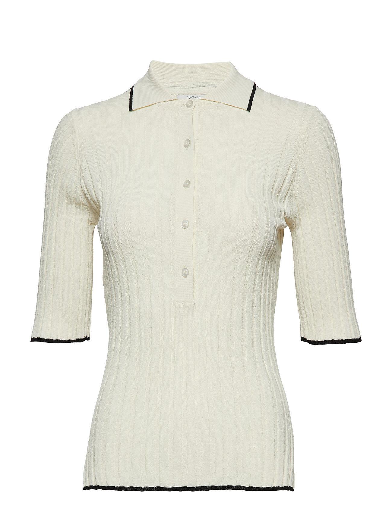 Dagmar Ella T-shirts & Tops Short-sleeved Kermanvärinen Dagmar