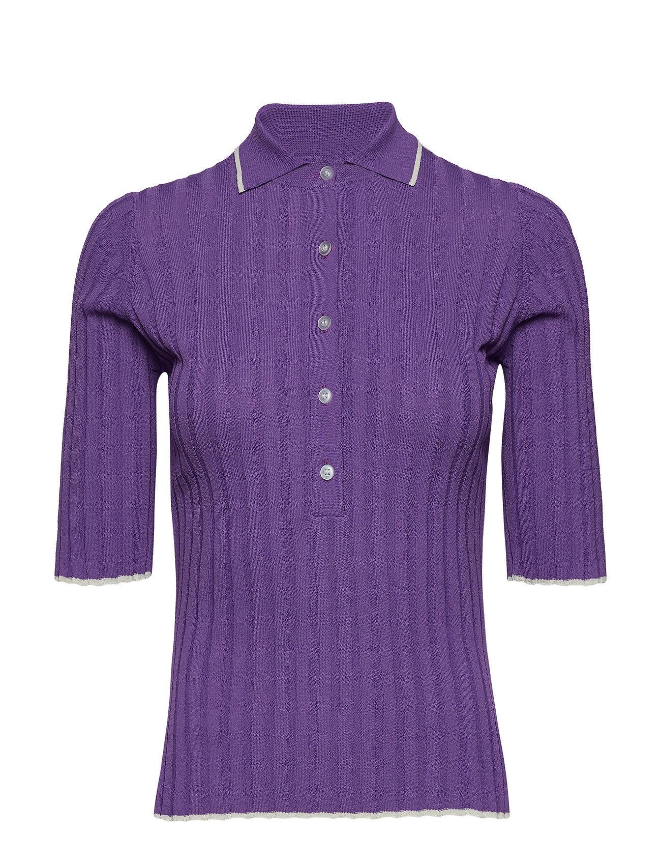 Dagmar Ella T-shirts & Tops Short-sleeved Liila Dagmar