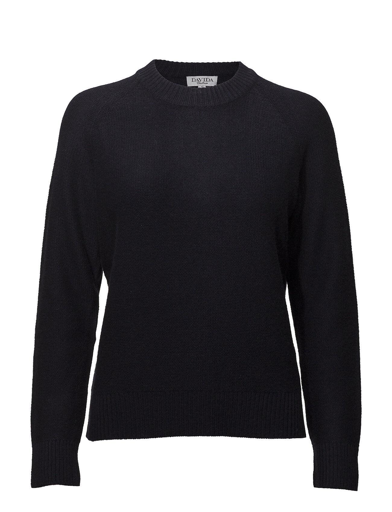 Davida Cashmere Raglan Box Sweater