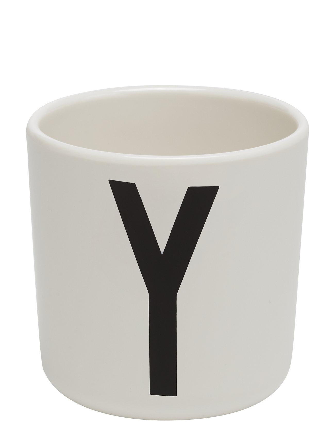 Design Letters Melamine Cup Kodin Sisustus Valkoinen Design Letters