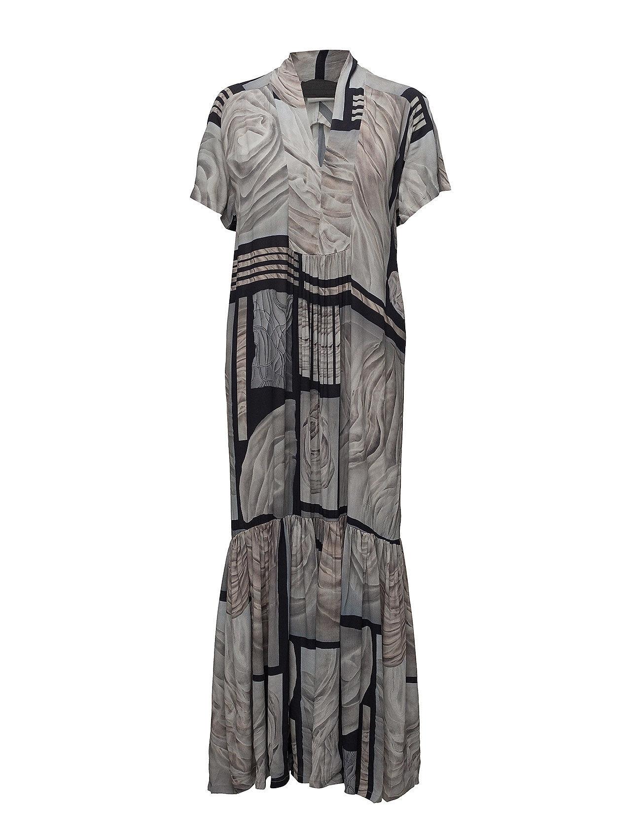 Diana Orving Long V-Neck Dress