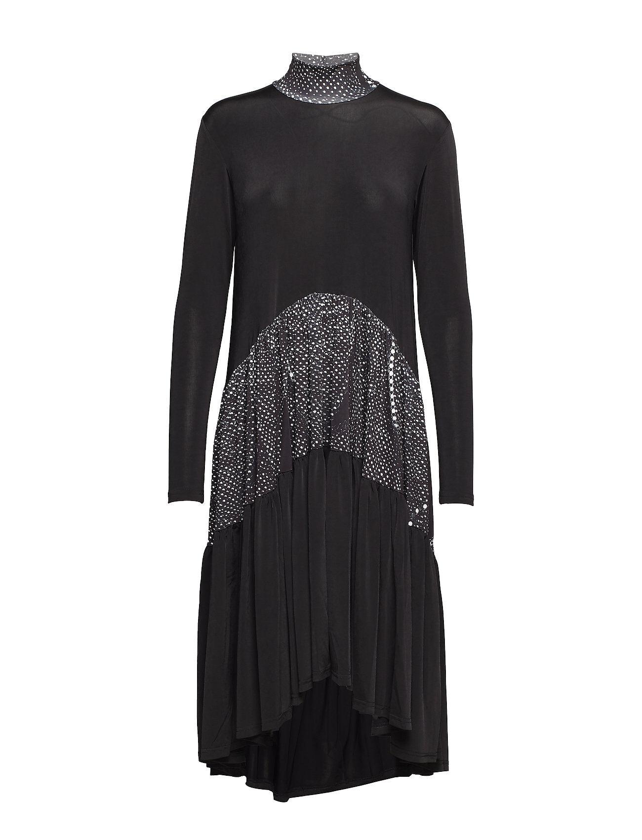 Diana Orving Long Ruffle Dress
