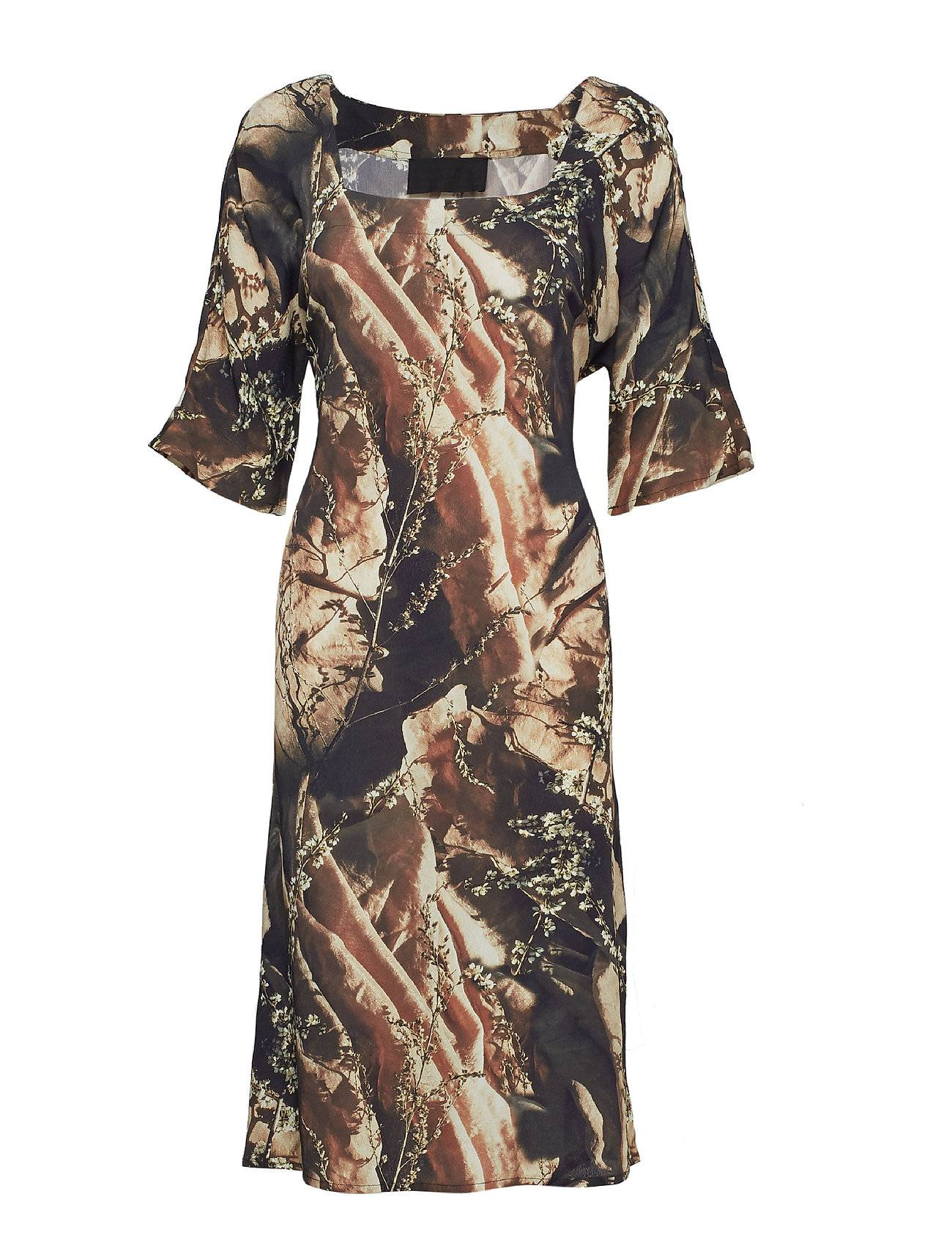 Diana Orving Square Neck Dress