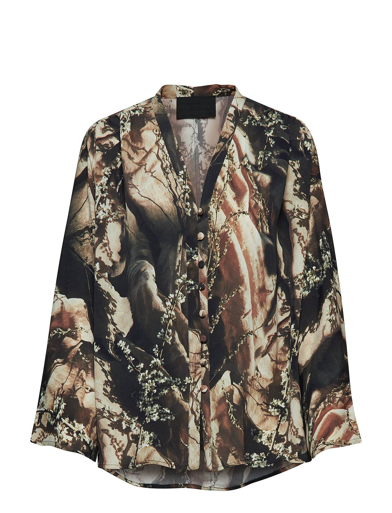 Diana Orving Buttoned Blouse