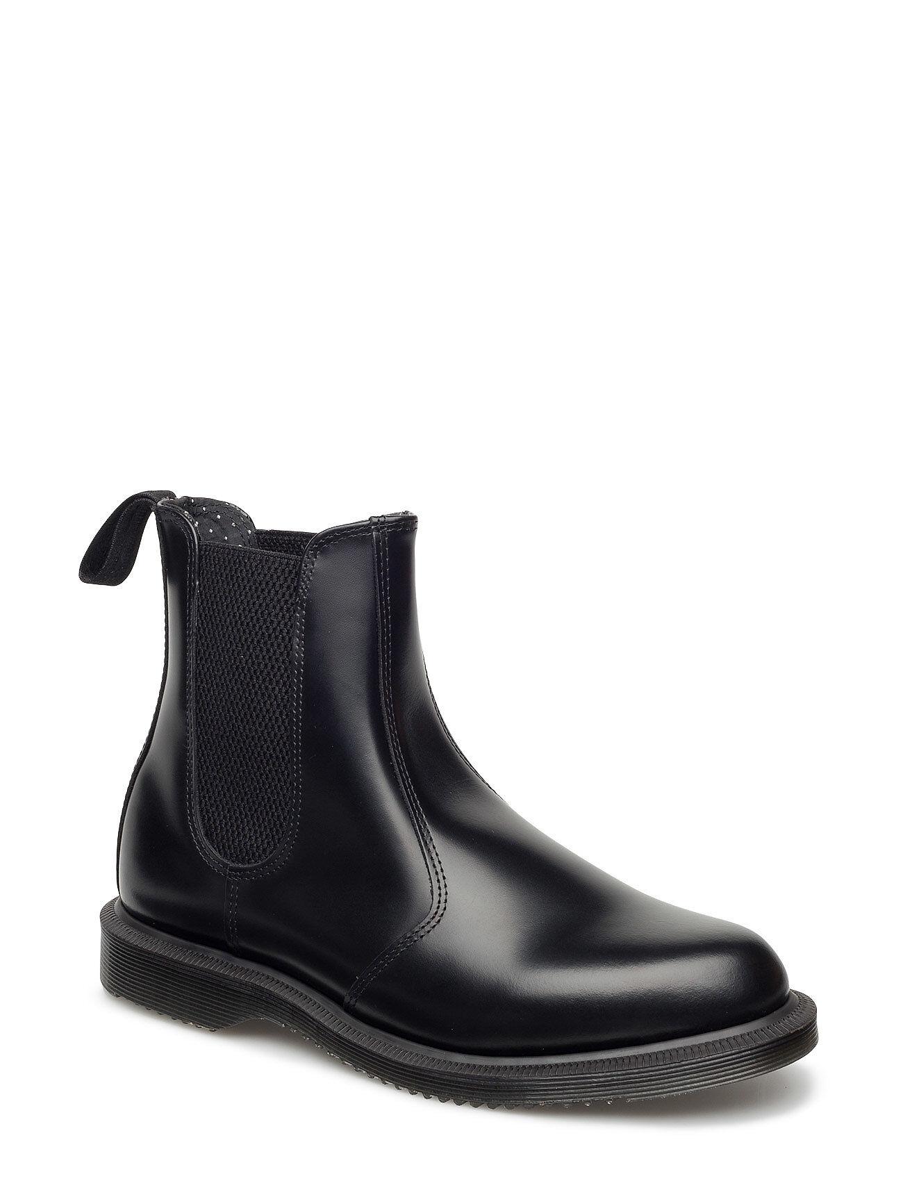 Image of Dr. Martens Flora Shoes Boots Ankle Boots Ankle Boots Flat Heel Musta Dr. Martens