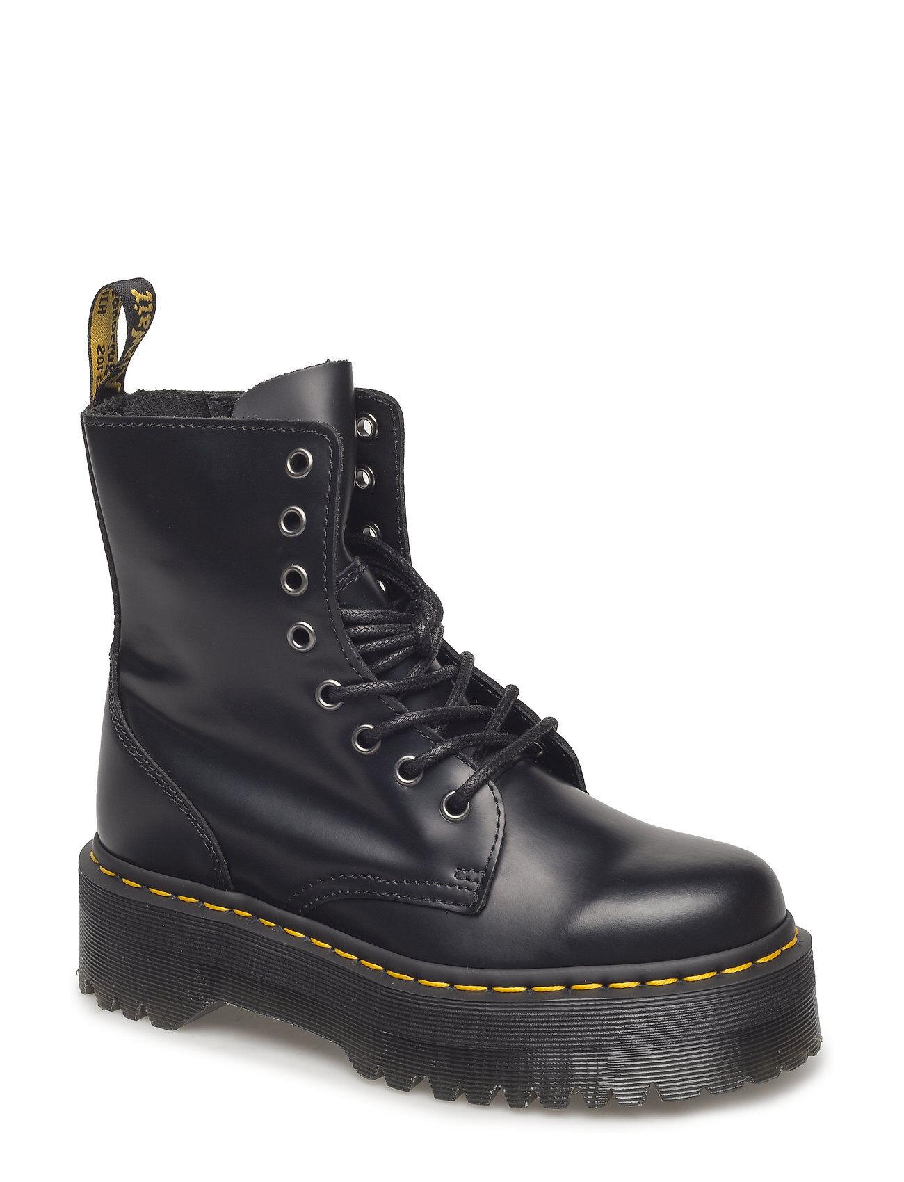 Image of Dr. Martens Jadon Shoes Boots Ankle Boots Ankle Boots Flat Heel Musta Dr. Martens