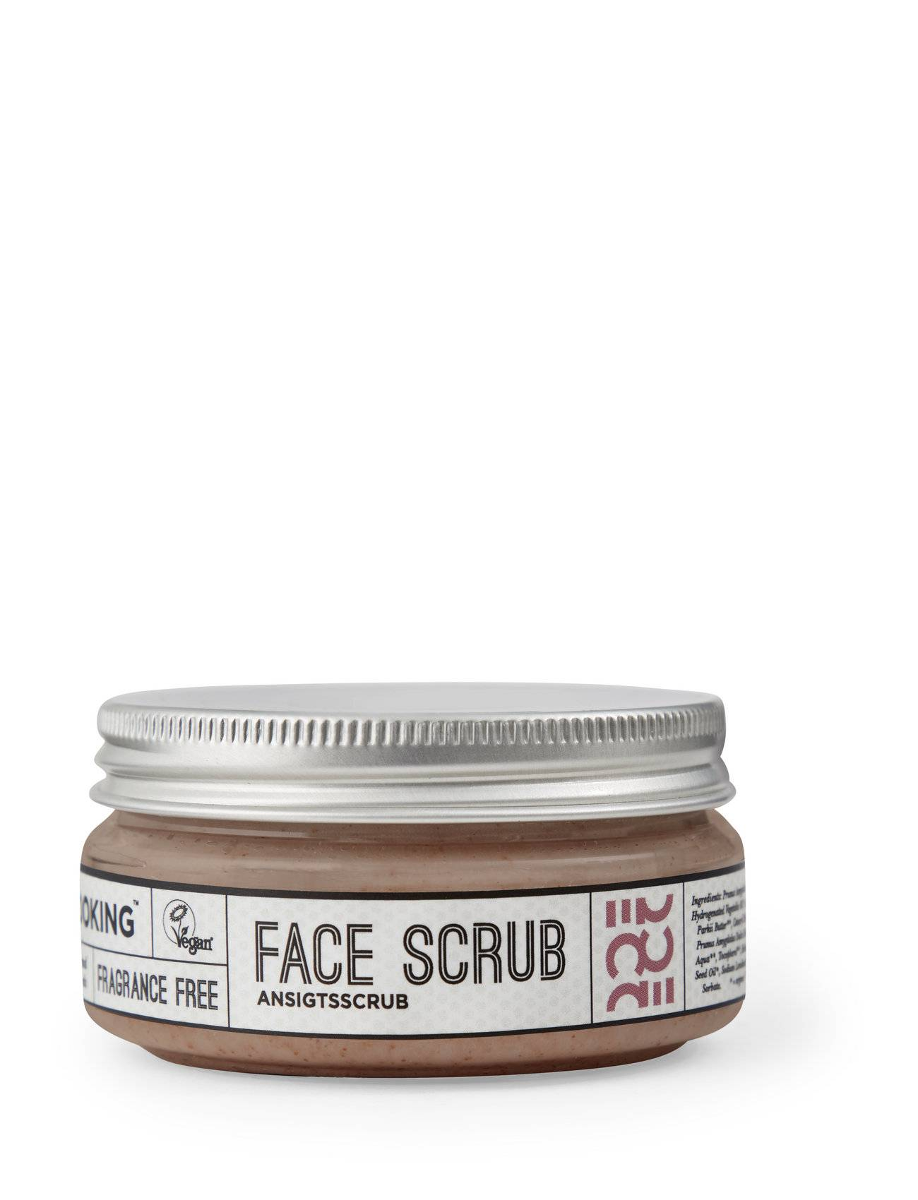Ecooking Face Scrub Kuorinta-aine Kasvojen Kuorinta Nude Ecooking