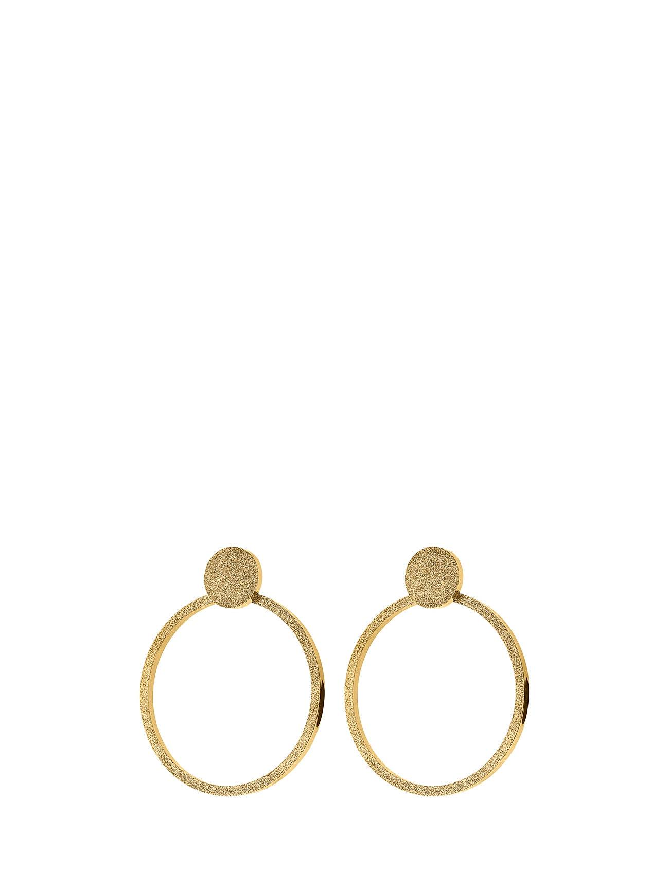 Edblad Valerie Earrings Large Sparkle Gold