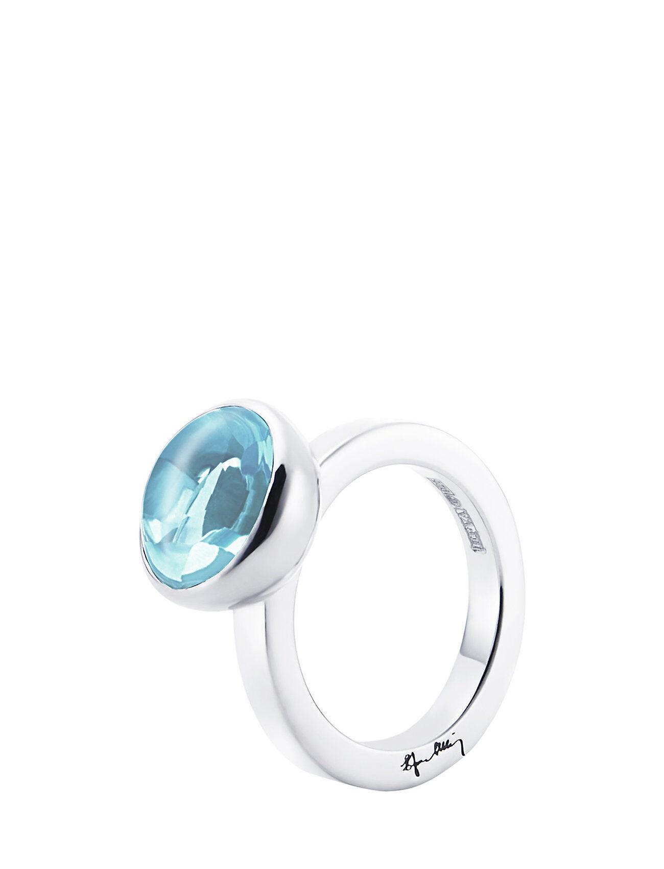 Efva Attling Love Bead Grande Ring - Topaz