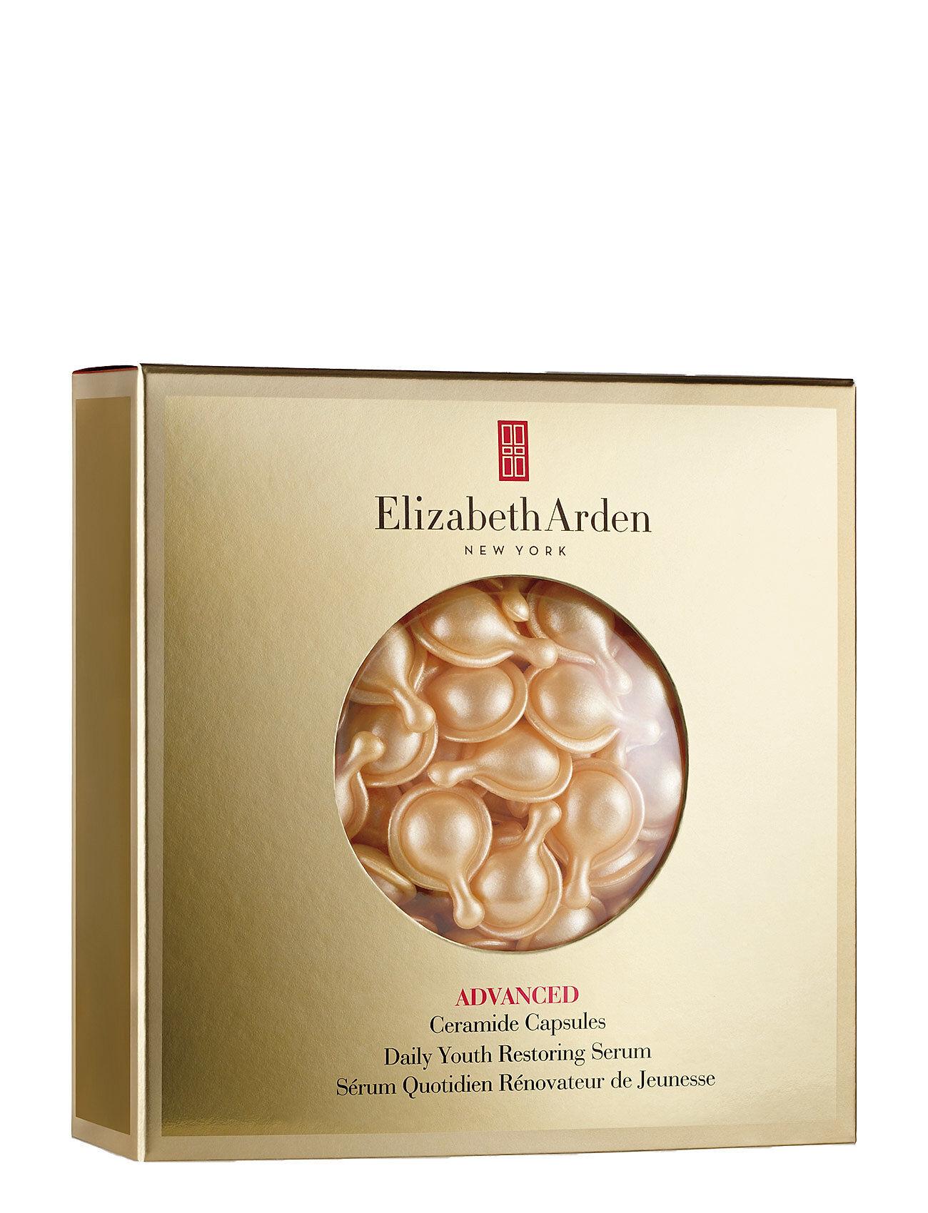 Elizabeth Arden Ceramide Capsules Restoring Serum Refill 45pcs Seerumi Kasvot Ihonhoito Nude Elizabeth Arden