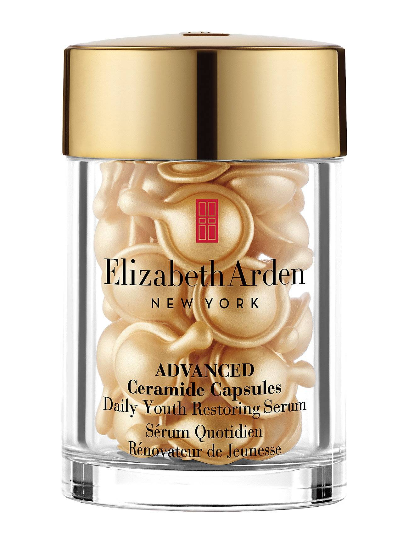 Elizabeth Arden Ceramide Capsules Restoring Serum 30pcs Seerumi Kasvot Ihonhoito Nude Elizabeth Arden