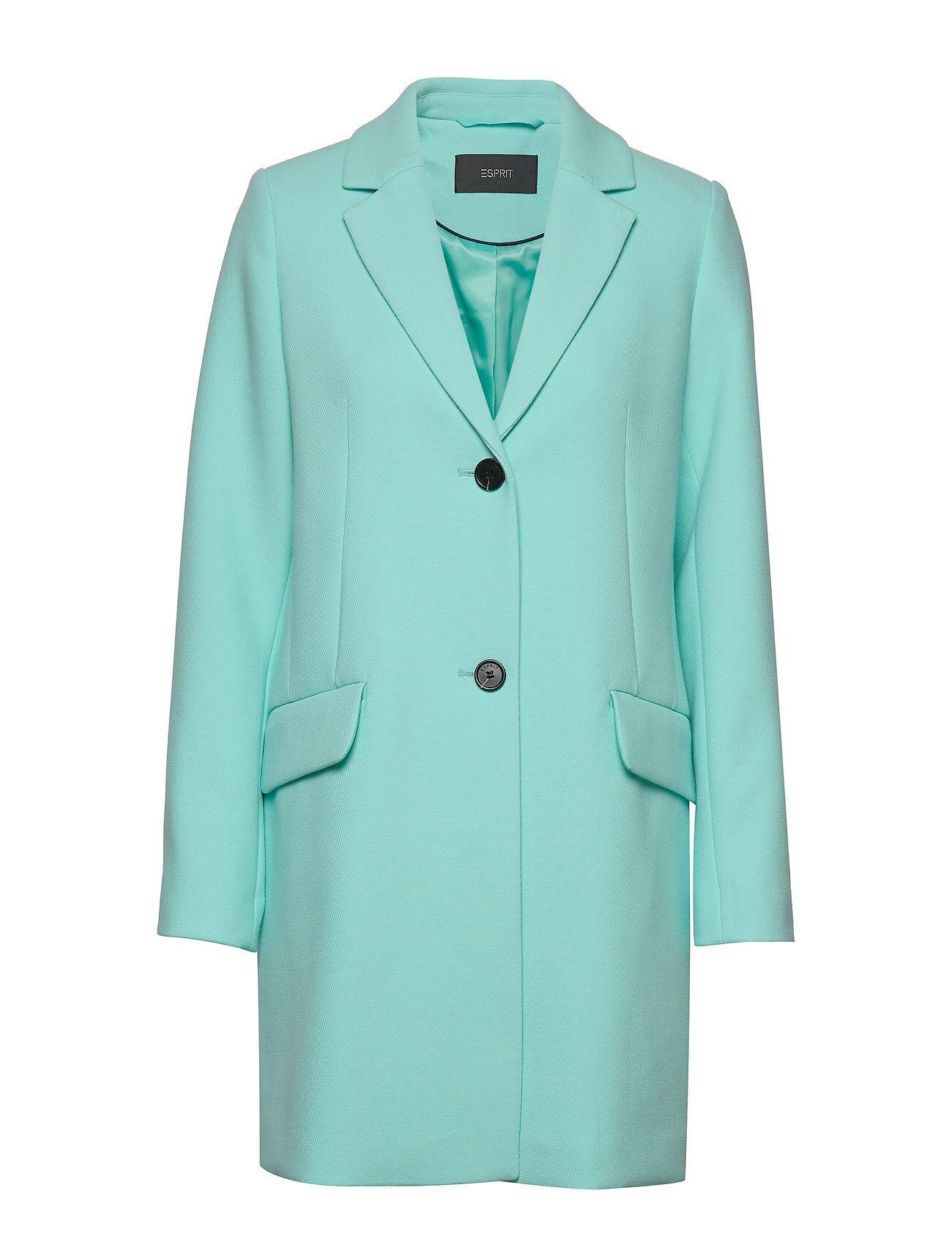 Image of Esprit Collection Coats Woven Bleiseri Puvun Takki Sininen Esprit Collection