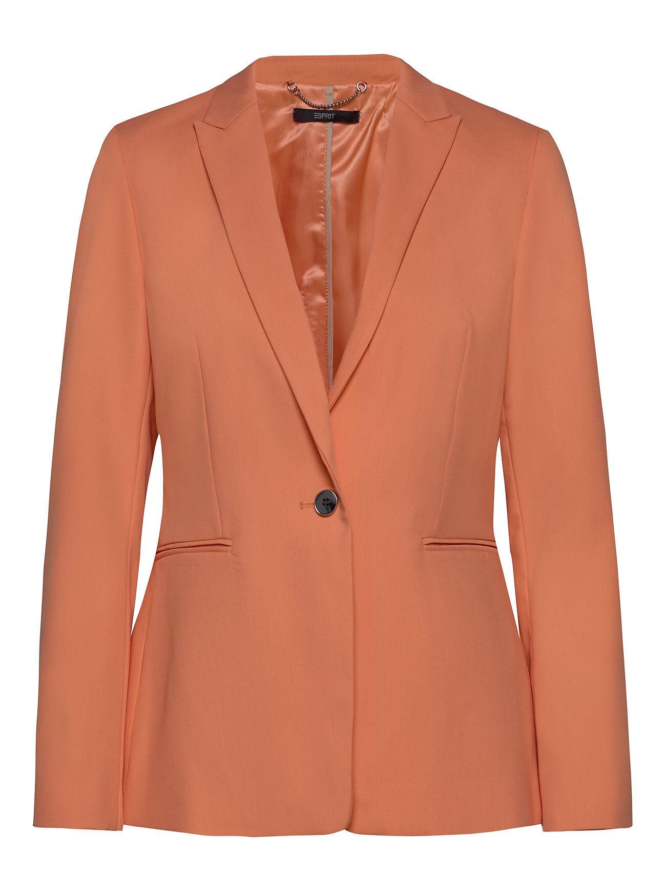 Image of Esprit Collection Blazers Woven Bleiseri Puvun Takki Oranssi Esprit Collection