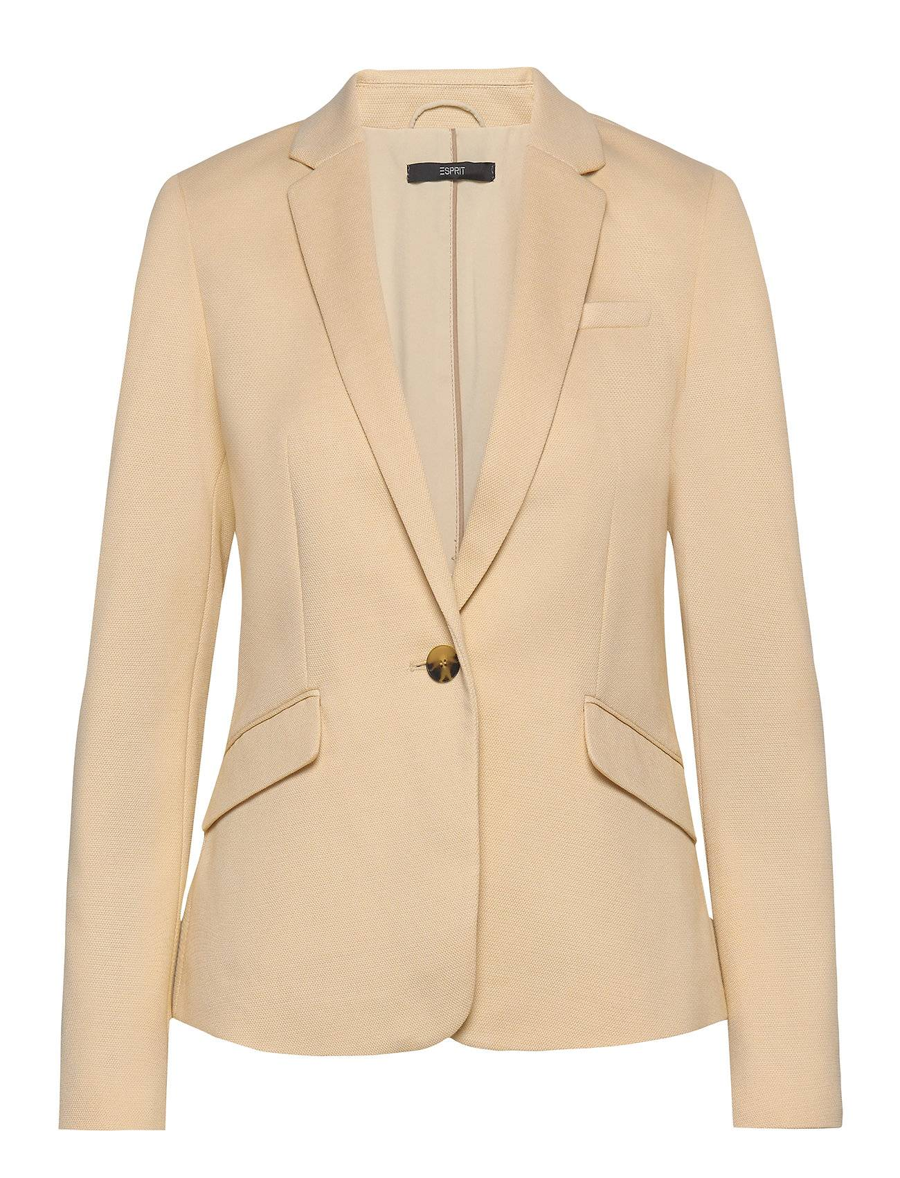 Image of Esprit Collection Blazers Woven Bleiseri Puvun Takki Ruskea Esprit Collection