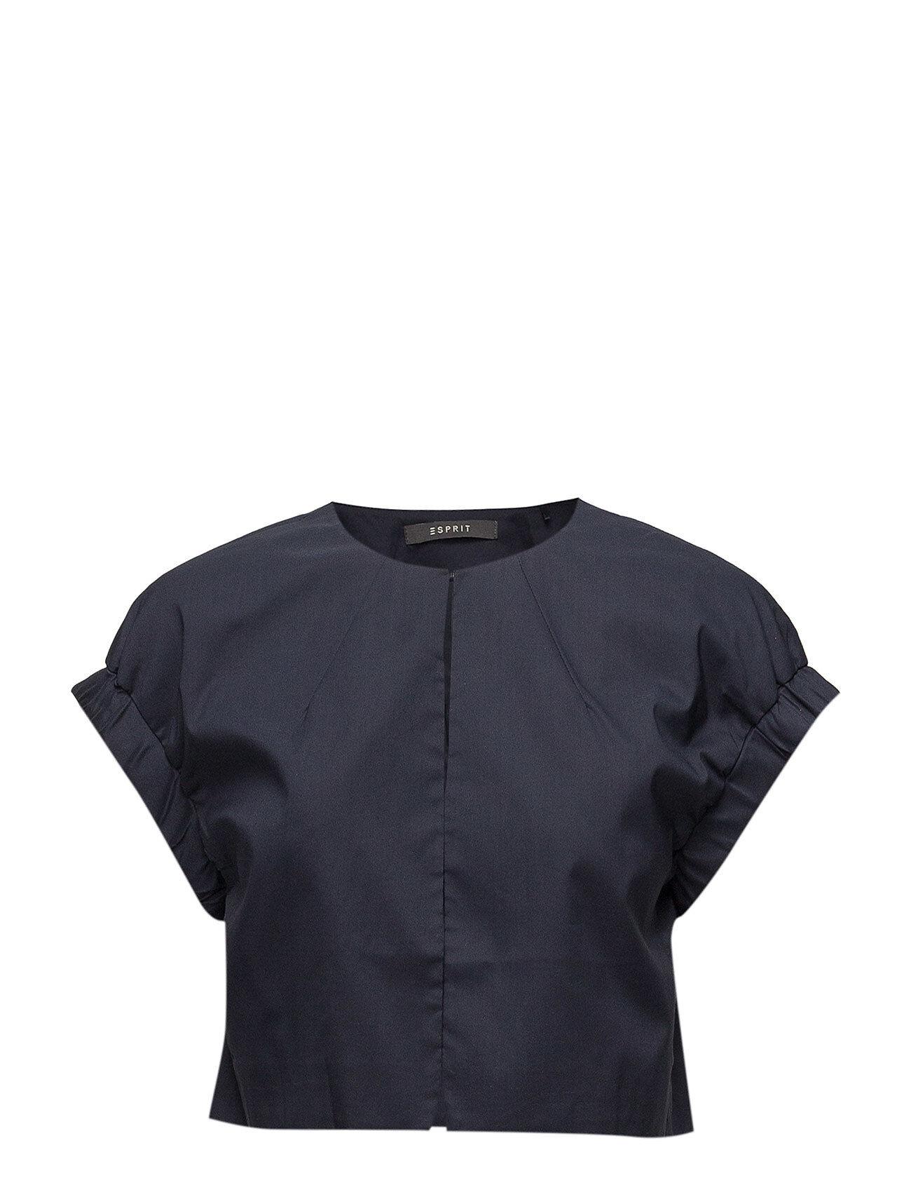 Image of Esprit Collection Jackets Indoor Woven Bleiseri Puvun Takki Sininen