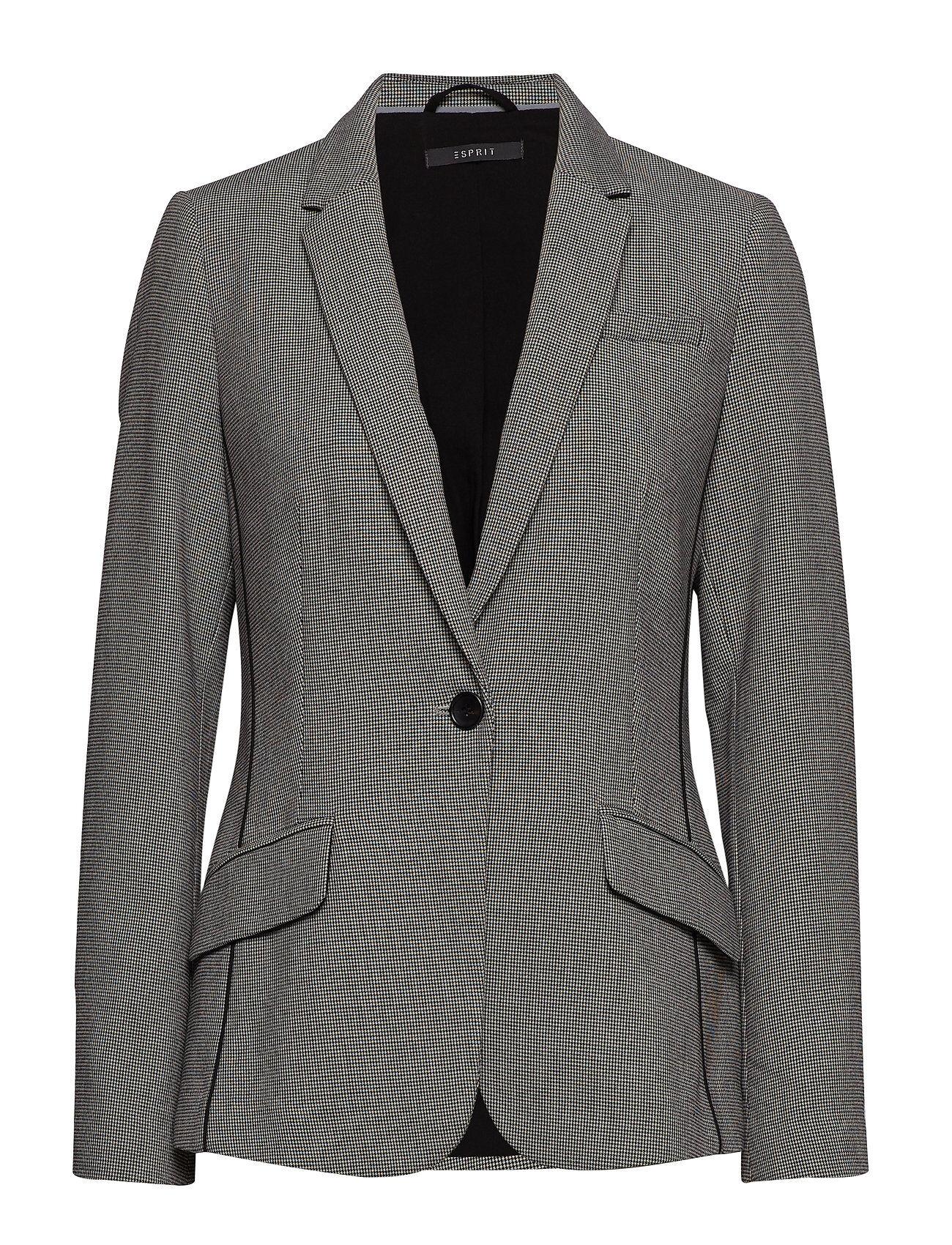Image of Esprit Collection Blazers Woven Bleiseri Puvun Takki Harmaa