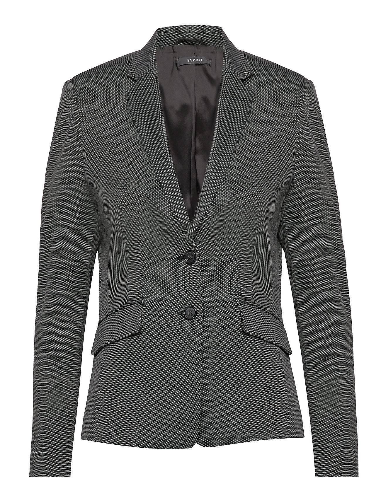 Image of Esprit Collection Blazers Woven Bleiseri Puvun Takki Harmaa Esprit Collection