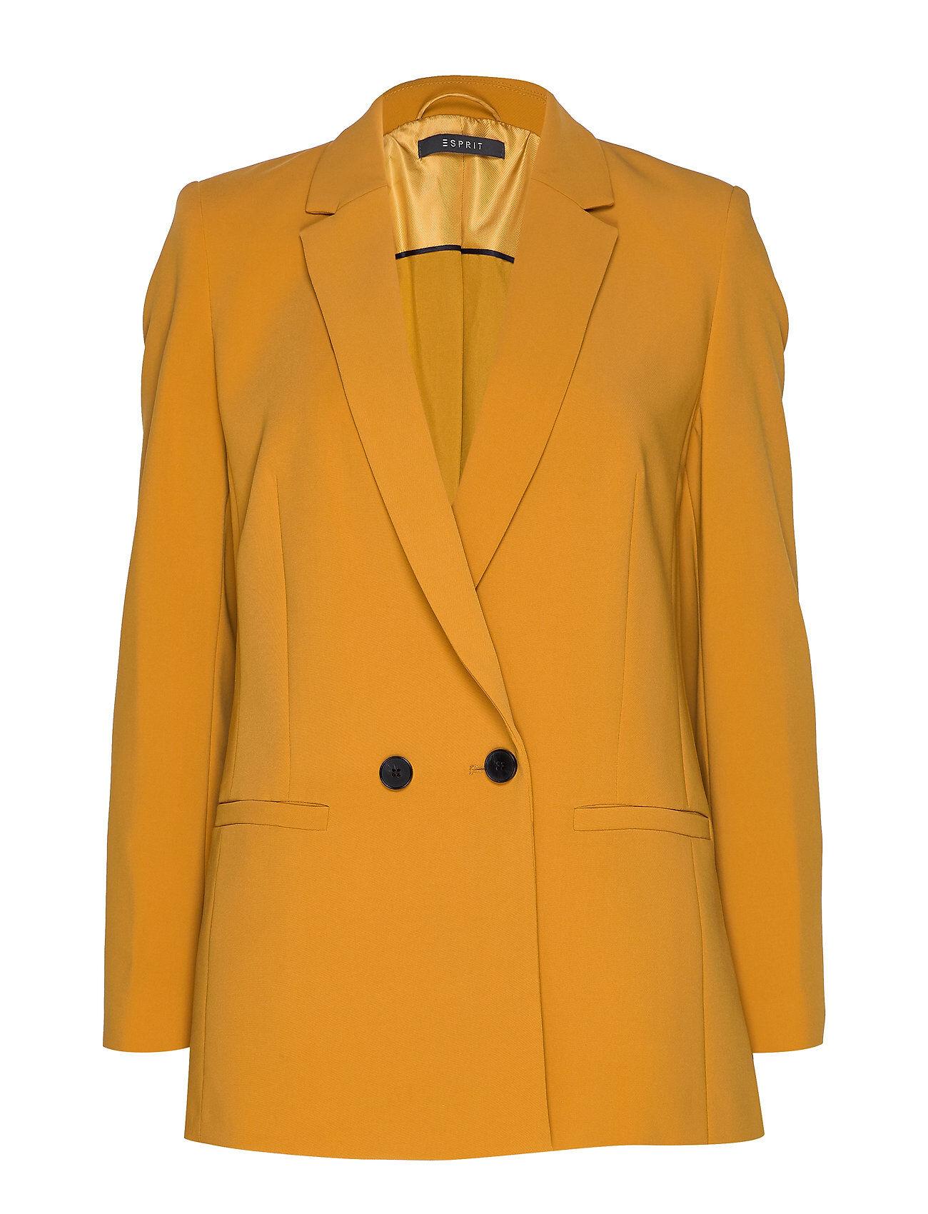 Image of Esprit Collection Blazers Woven Bleiseri Puvun Takki Keltainen