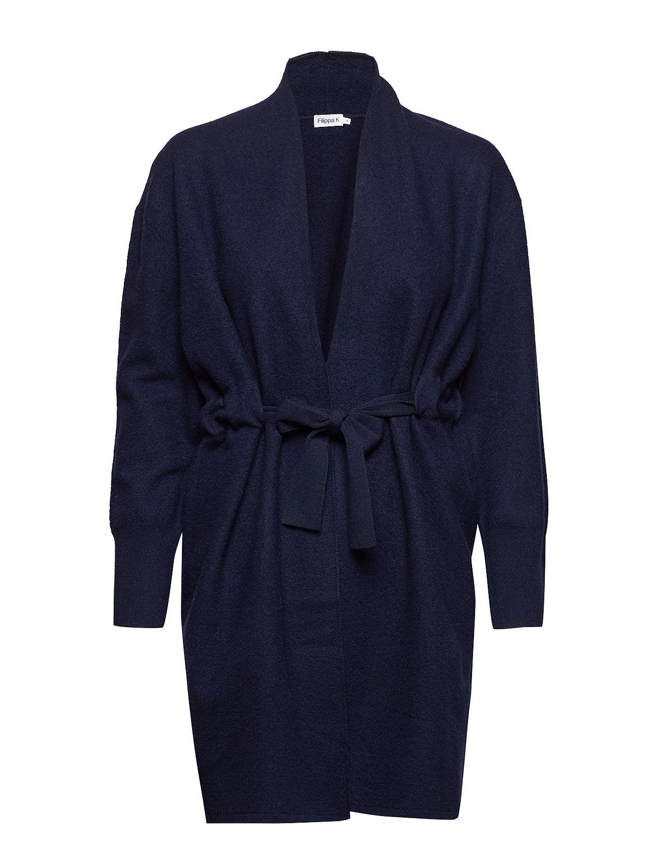 Filippa K Boiled Wool Coat Cardigan
