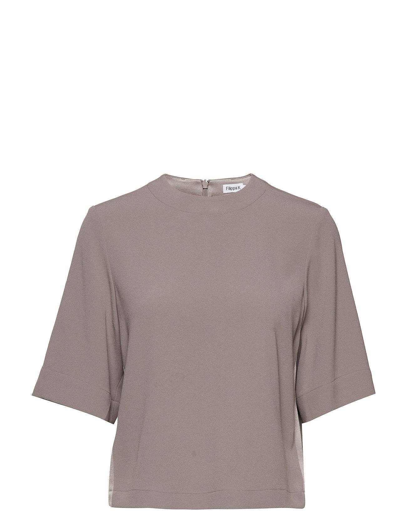 Filippa K Satin Crepe Top
