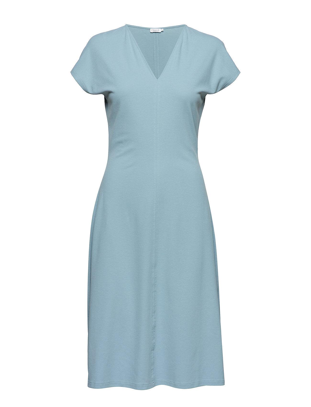 FILIPPA K Clean-Cut Cap Sleeve Dress Polvipituinen Mekko FILIPPA K