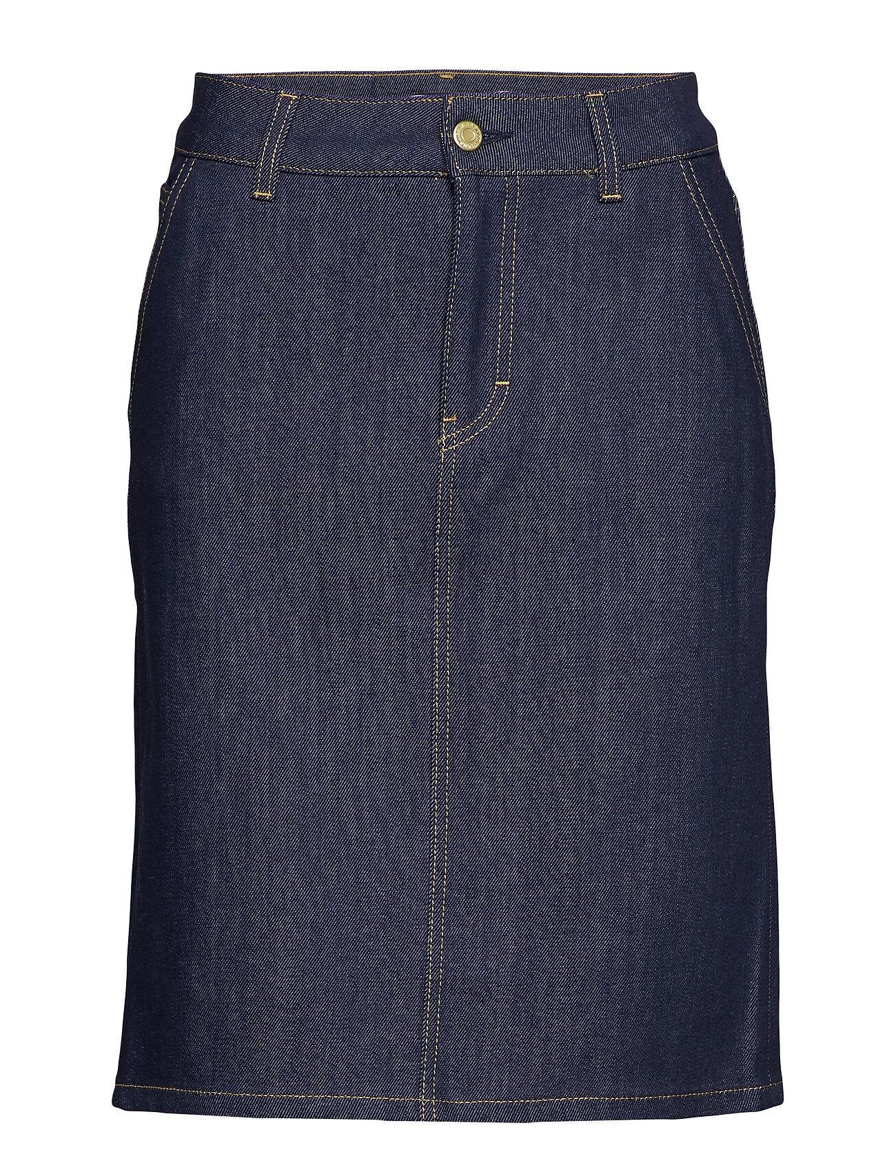 Filippa K Alicia Raw Denim Skirt