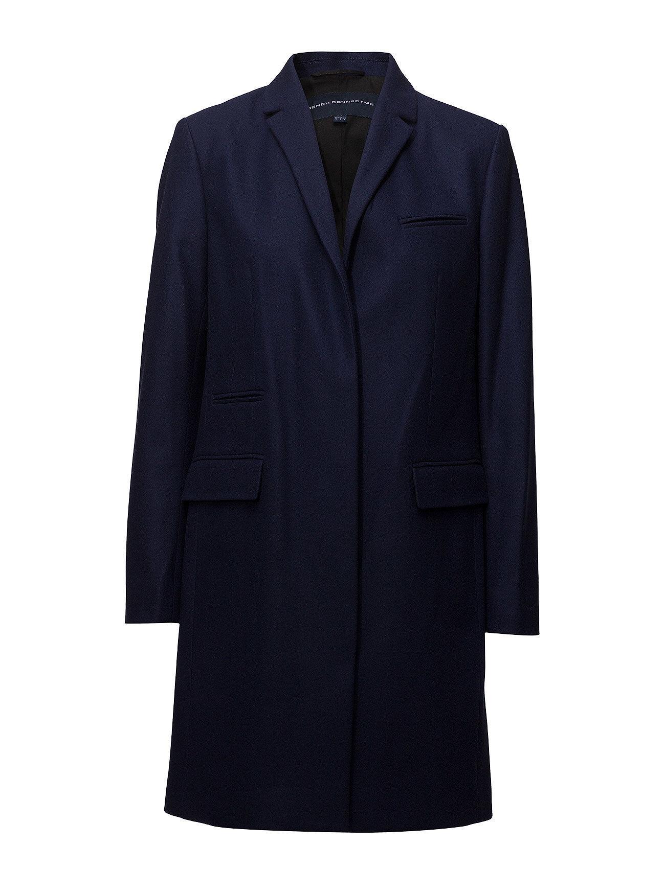 French Connection Platform Felt Smart Coat