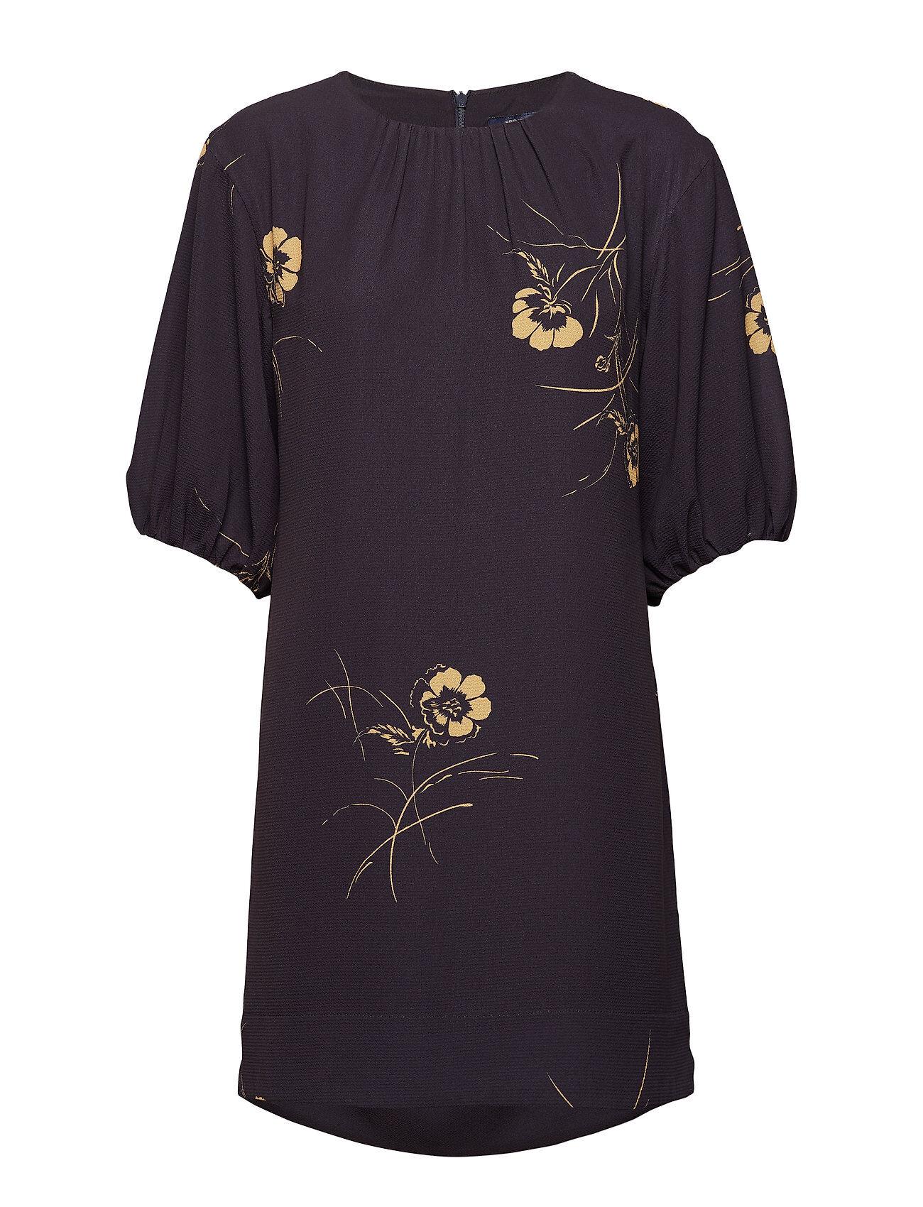 French Connection Mahi Crepe Ls Tunic Dress