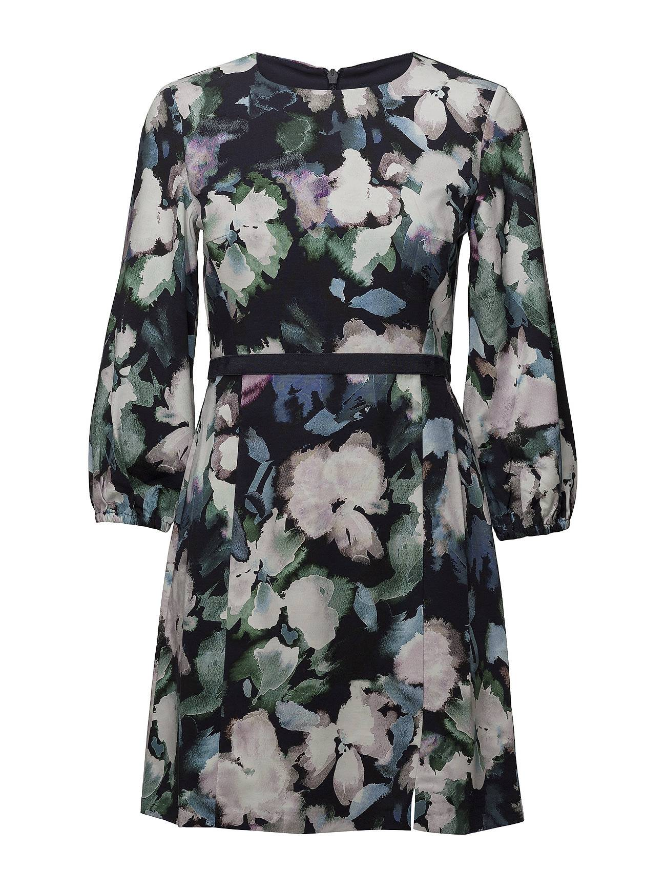 French Connection Dreda Print Fit Flare Dress