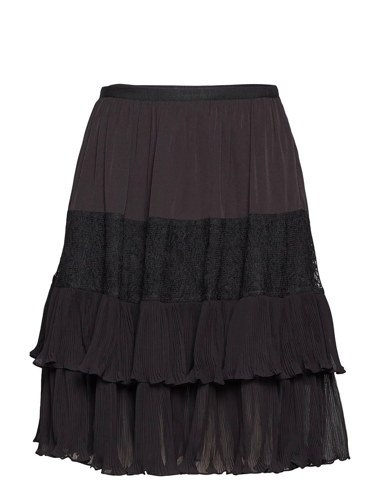 French Connection Clandre Vintage Lace Mix Skirt