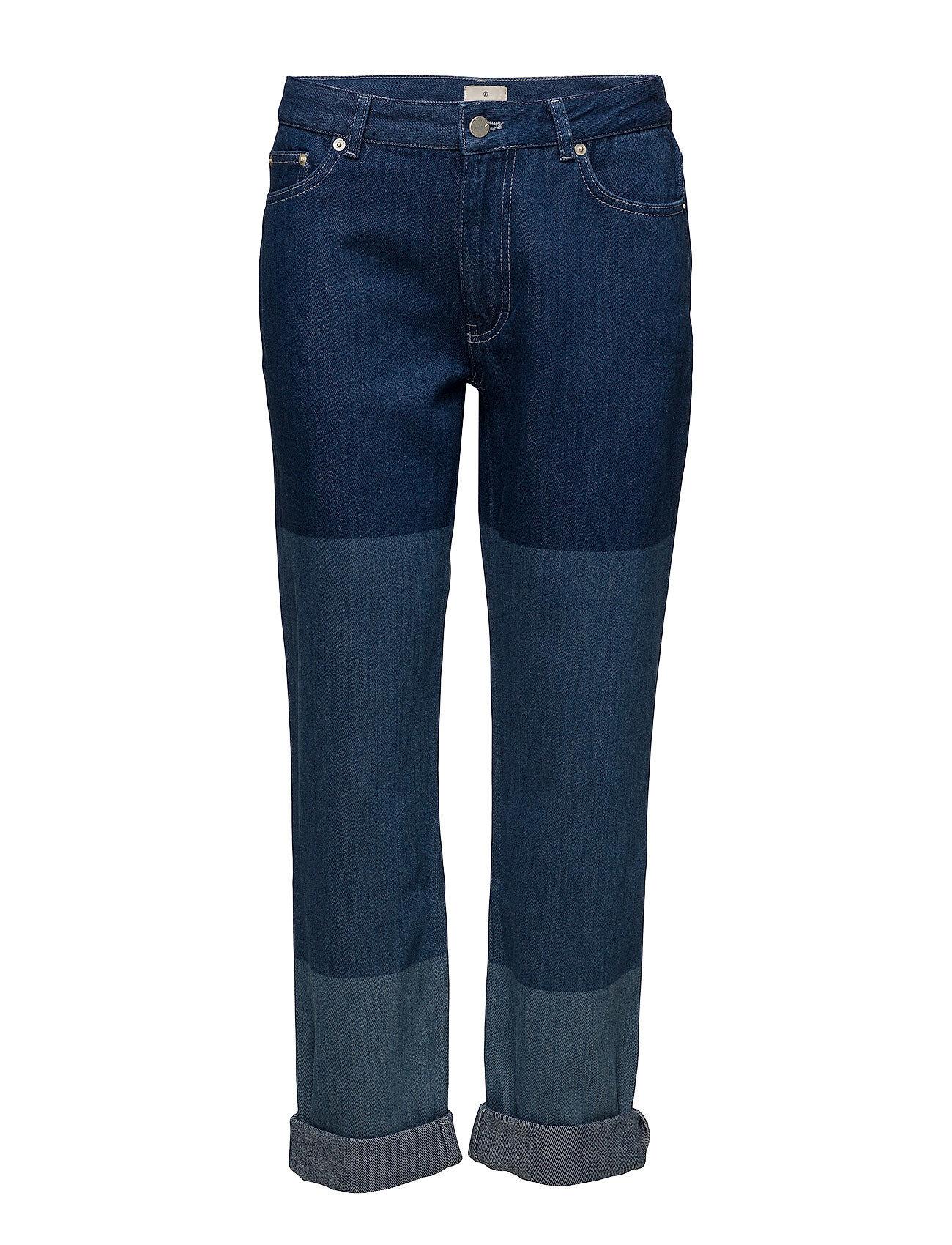 French Connection Boyfit Tri Shade Jeans Boyfriend Farkut Sininen French Connection