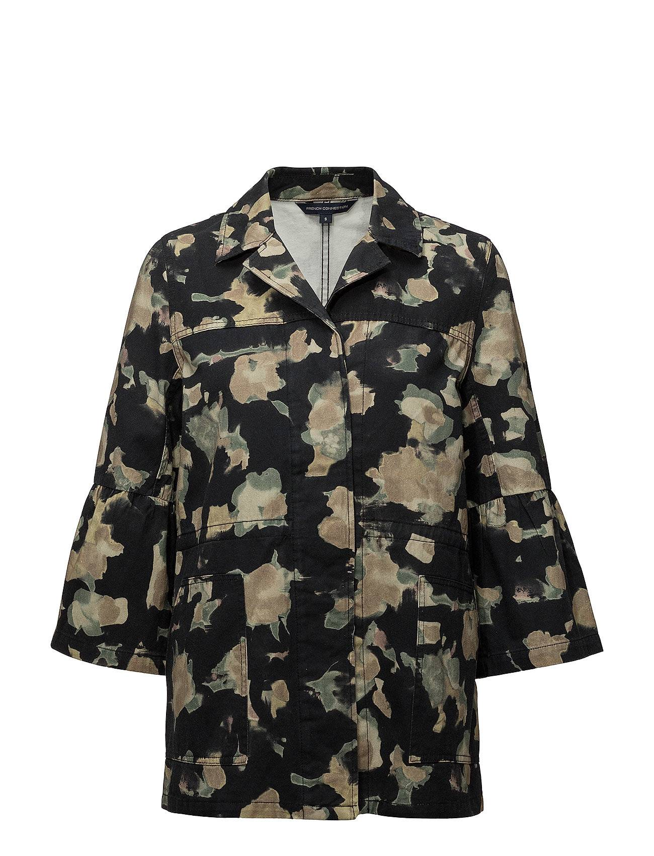 French Connection Balla Camoflauge Utility Jacket
