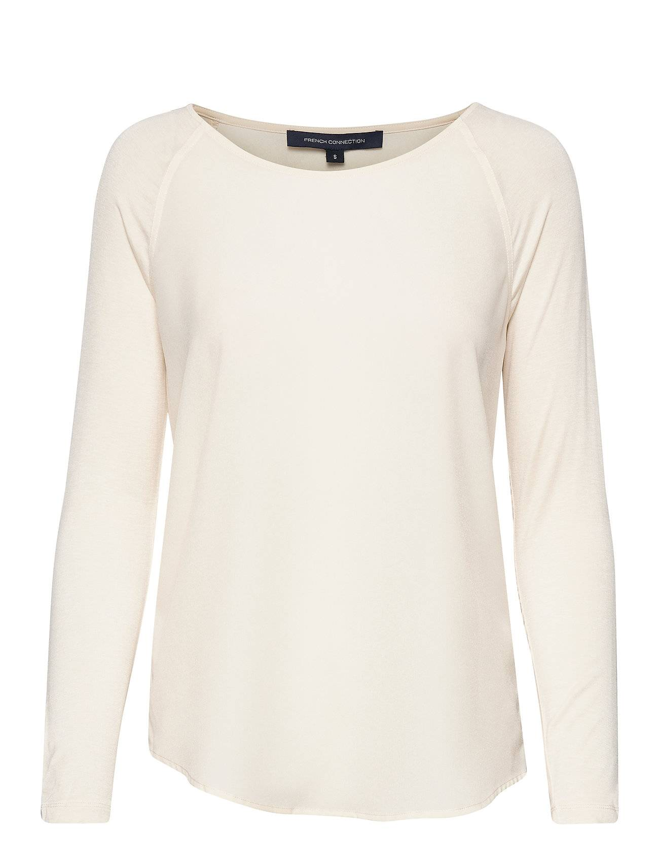 French Connection Polly Plains Ls T-shirts & Tops Long-sleeved Kermanvärinen French Connection