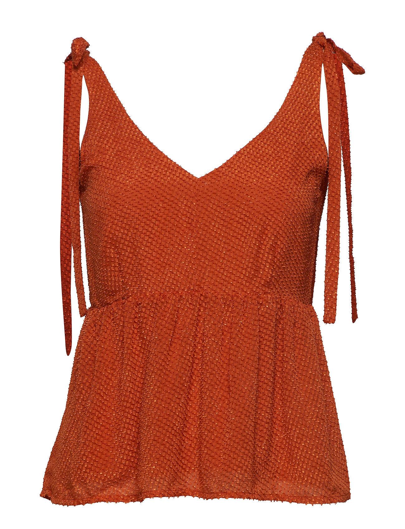 Gestuz Lonagz Top Ao19 T-shirts & Tops Sleeveless Oranssi
