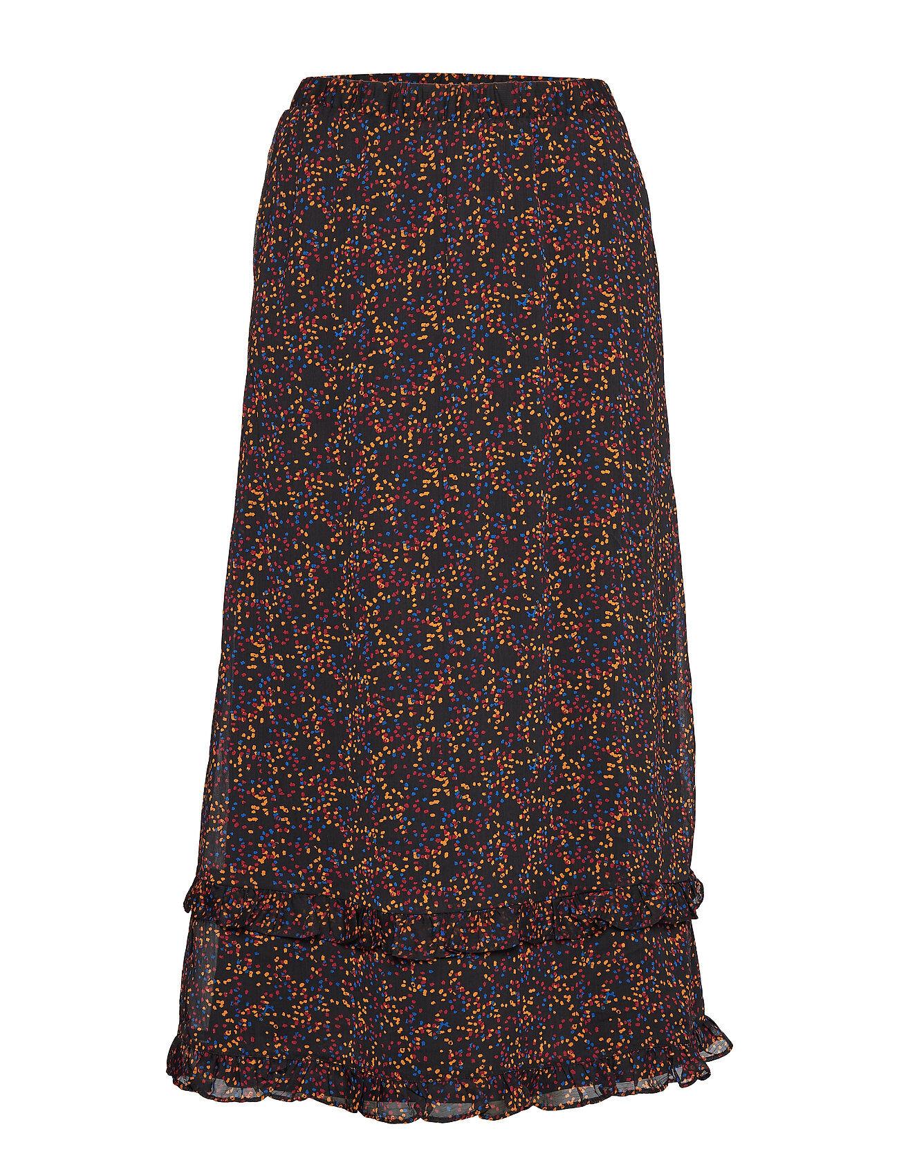 Gestuz Alminagz Skirt Ma19 Polvipituinen Hame Monivärinen/Kuvioitu Gestuz