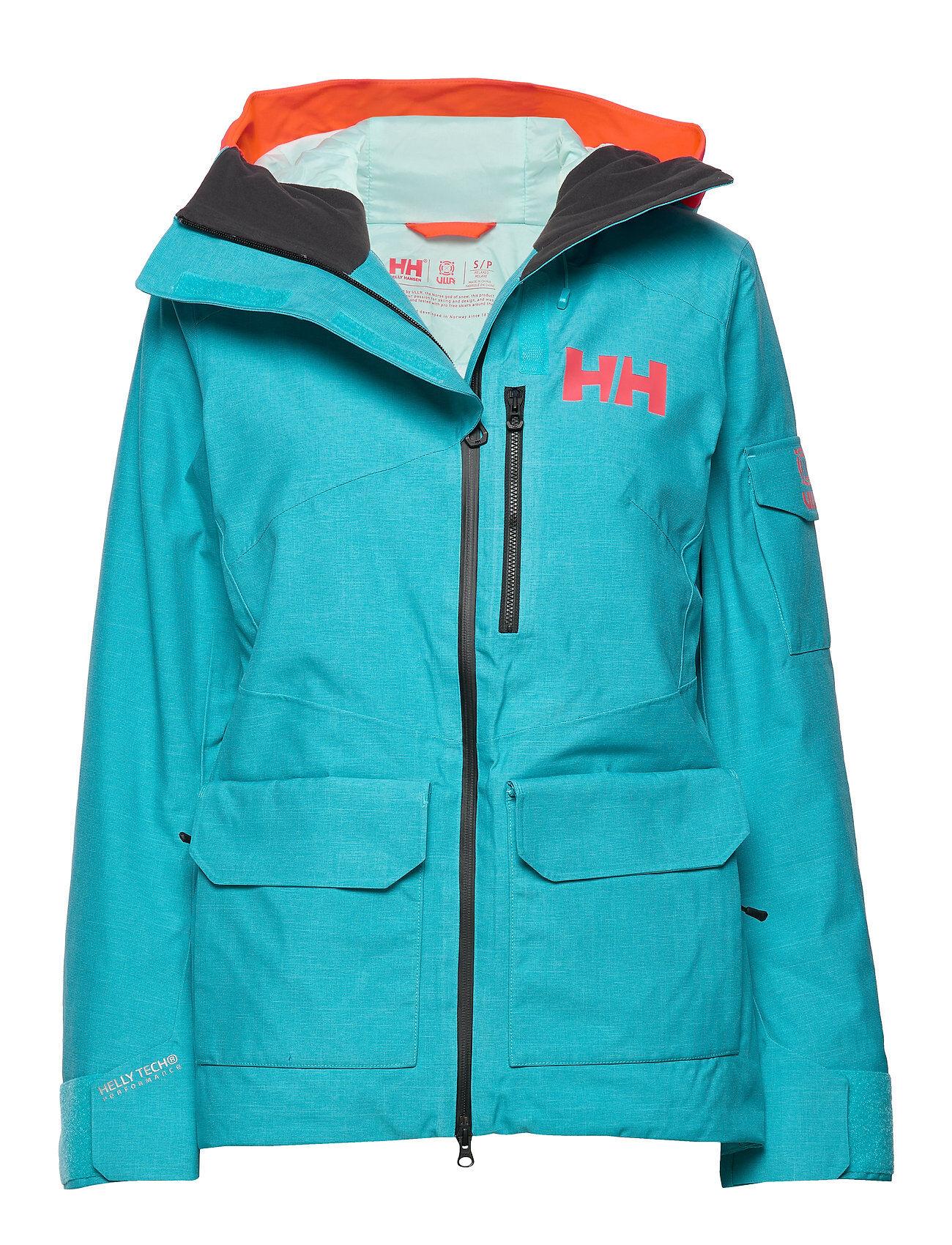 Image of Helly Hansen W Powderqueen 2.0 Jacket Outerwear Sport Jackets Sininen Helly Hansen