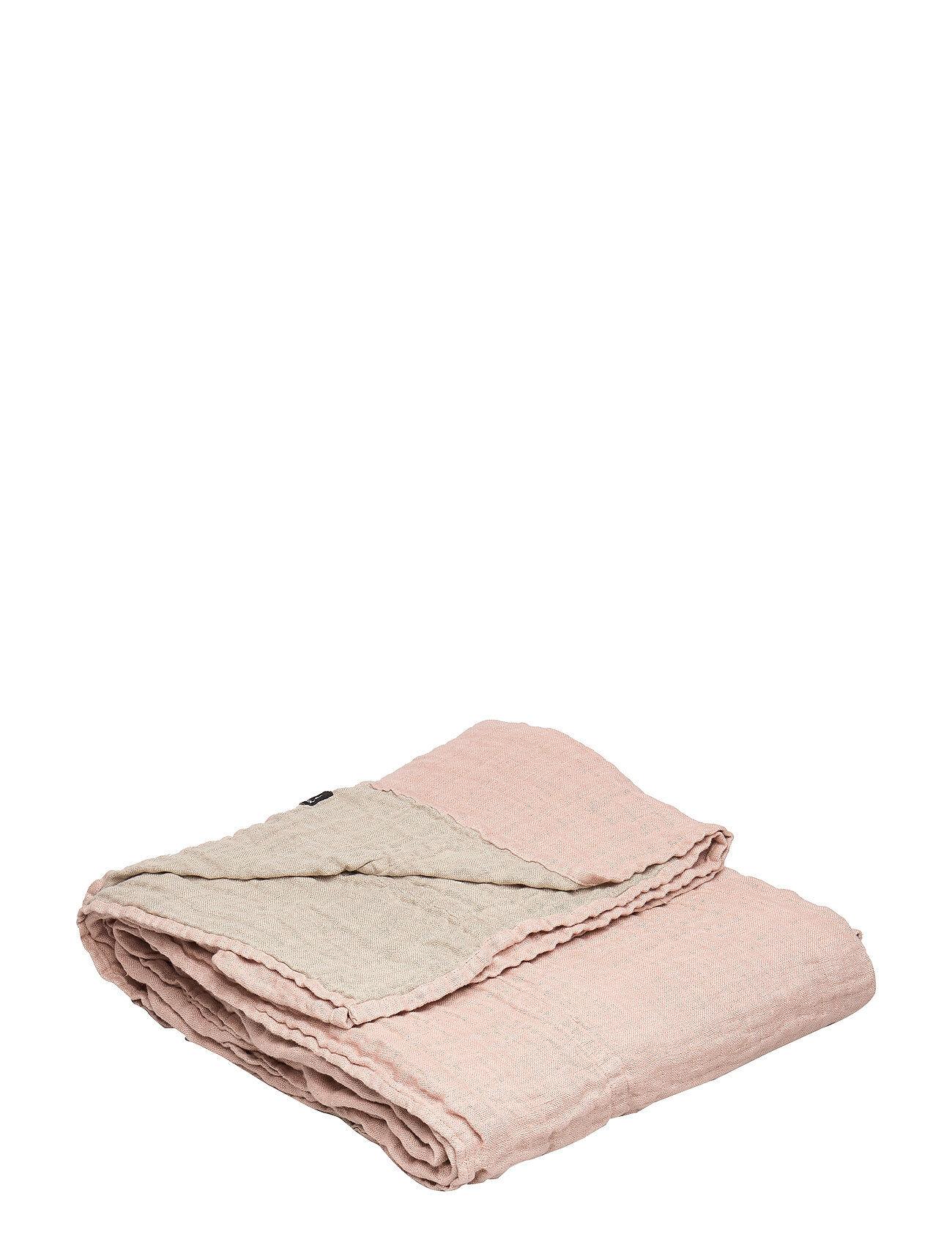 Himla Hannelin Bedspread Home Bedroom Bedspread Vaaleanpunainen Himla