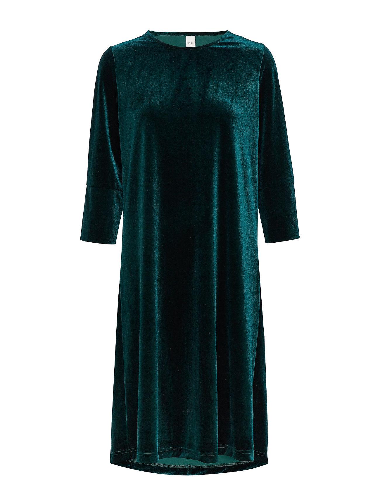 IBEN Kobi Dress St Polvipituinen Mekko Vihreä
