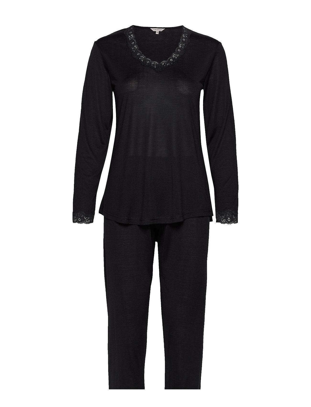 Lady Avenue Silk Jersey - Pyjamas, Long Sleeve